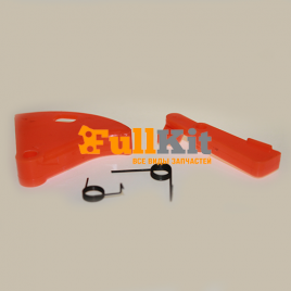 Курок ручки газа коса широкий комплект