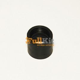 Патрубок карбюратора Husqvarna 137-142 черный большой